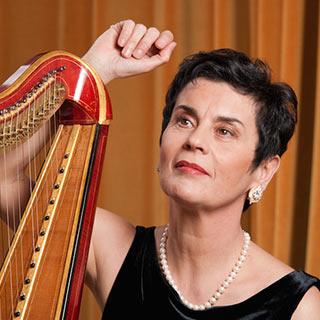 LMFL harp tutor lisette rossi