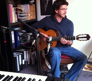 Стив Бэнкс. Акустическая и электрическая гитара.
